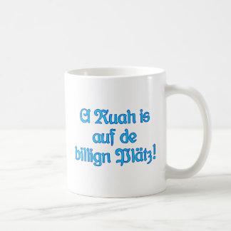 Ruah Plätz a bajo precio Baviera bávara Taza De Café