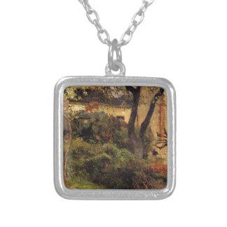 Ruán en la primavera de Paul Gauguin Colgante Cuadrado
