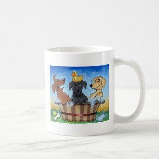 Rub a dub dub 3 labs in a Mug