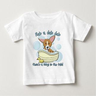 Rub a Dub Dub Corgi Baby's TShirt