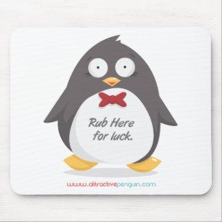 Rub a Penguin Mouse Pad