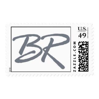Rub Bar Mitzvah Logo Postage Stamp