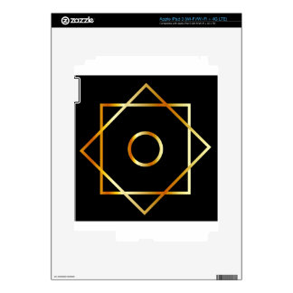 Rub el Hizb symbol- Muslim religious symbol Skins For iPad 3