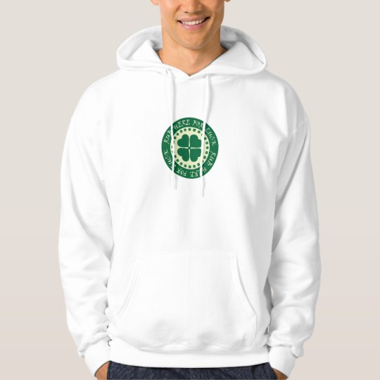 Rub Here For Luck Hoodie