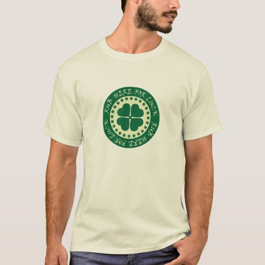 Rub Here For Luck T-Shirt