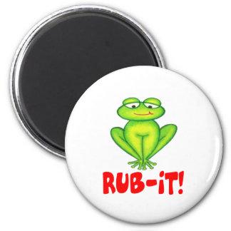 Rub-it Frog Magnet