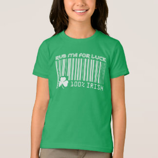 Rub me for Luck. St. Patrick's Day Kids' T-Shirts, T-Shirt