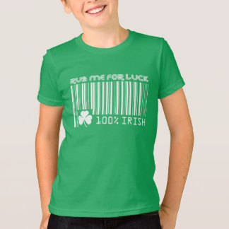Rub me for Luck. St. Patrick's Day T- Shirts