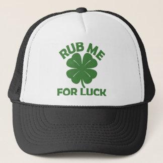 Rub Me For Luck Trucker Hat