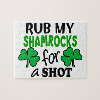 Rub My Shamrocks For a Shot Puzzles