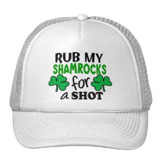 Rub My Shamrocks For a Shot Trucker Hat