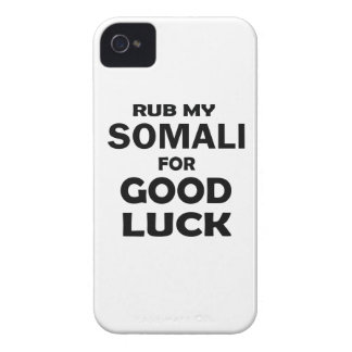 Rub my Somali for good luck Case-Mate iPhone 4 Cases