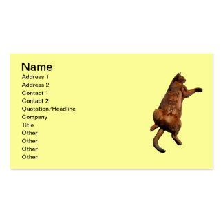 Rub My Tummy Business Card