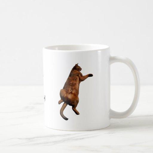 Rub My Tummy Classic White Coffee Mug