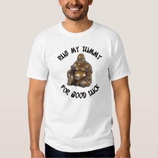 Rub My Tummy for Good Luck Tee Shirt