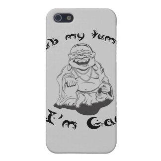 Rub my tummy, I'm gay. iPhone 5 Case