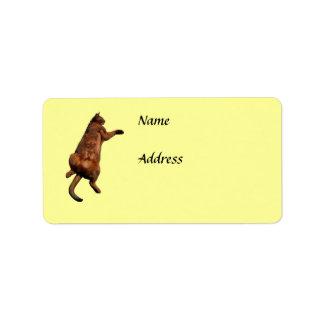Rub My Tummy Personalized Address Labels