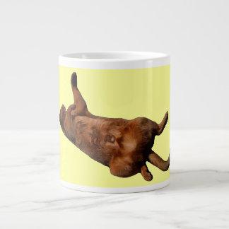 Rub My Tummy Large Coffee Mug