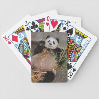 Rub my Tummy Panda Bear Bicycle Playing Cards