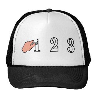 Rub one out trucker hat