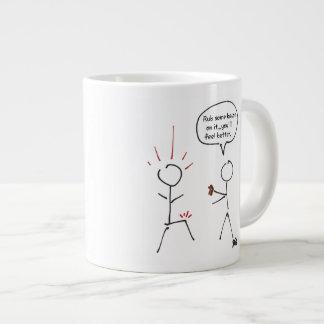 Rub some bacon on it! giant coffee mug