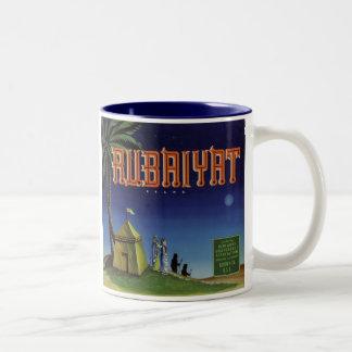 Rubaiyat Fruit Crate Label Two-Tone Coffee Mug