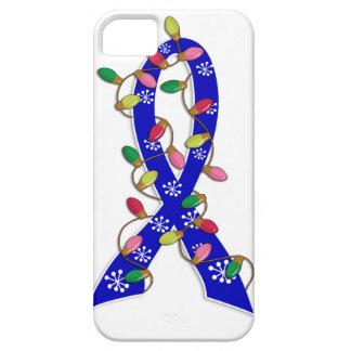 Ruban anal de lumières de Noël de Cancer iPhone 5 Cases