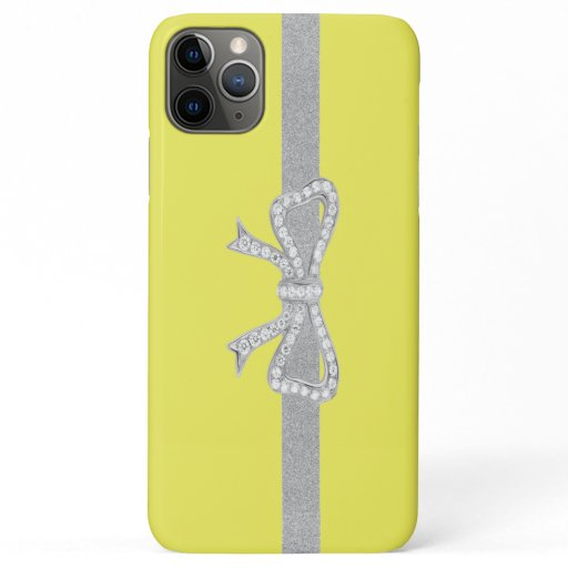 ruban silver case Iphone luxury