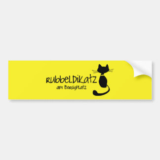 Rubbeldikatz am Borsigplatz Autoaufkleber Bumper Sticker