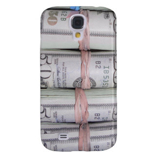 Rubber Band Banks In Your Pocket Samsung Galaxy S4 Cover