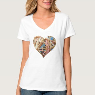 Rubber Band Heart T-Shirt