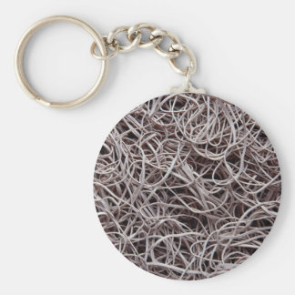 Rubber bands key chain