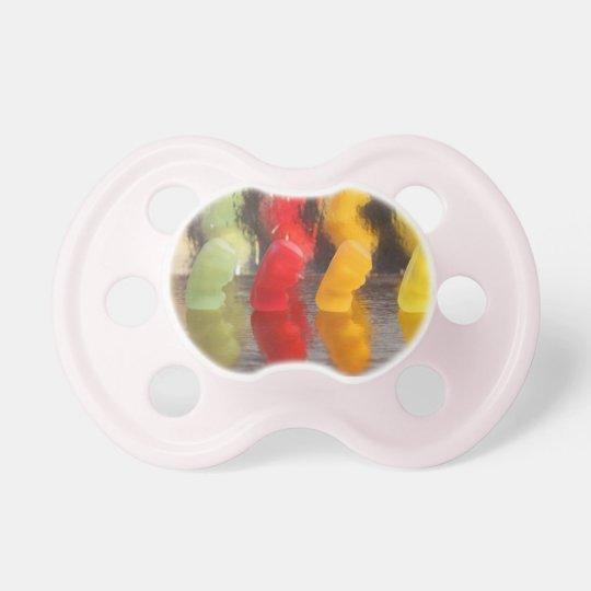 Rubber bears pacifier