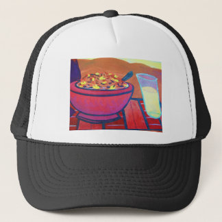 Rubber Chicken cereal Trucker Hat