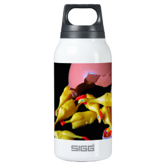 Rubber Chicken Hatchling Insulated Water Bottle