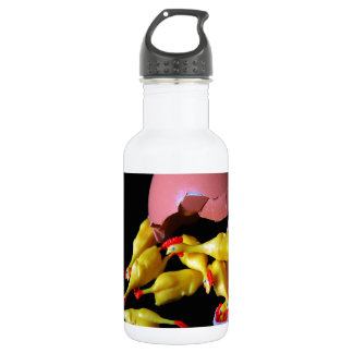 Rubber Chicken Hatchling Stainless Steel Water Bottle
