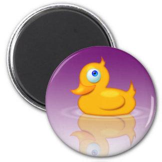 Rubber Duck 2.0 2 Inch Round Magnet