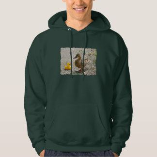 Rubber Duck and Mother Duck Hoodie
