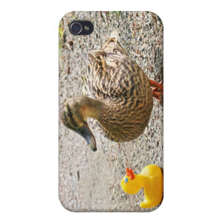 Rubber Duck and Mother Duck iPhone 4 Cases