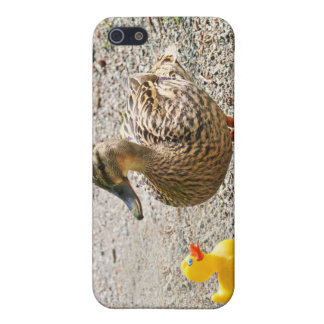 Rubber Duck and Mother Duck Cases For iPhone 5