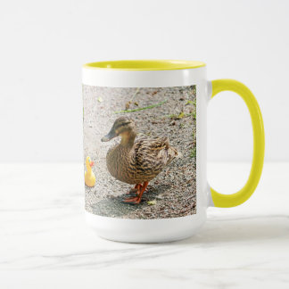 Rubber Duck and Mother Duck Mug
