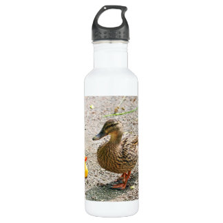Rubber Duck and Mother Duck Water Bottle