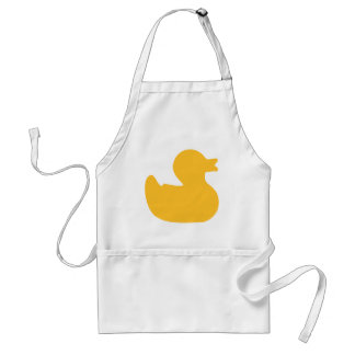 Rubber duck aprons