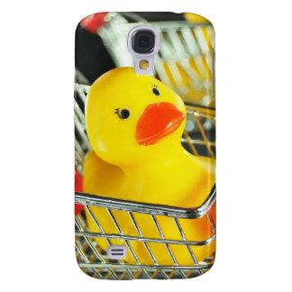 Rubber duck baby shopping concept galaxy s4 case