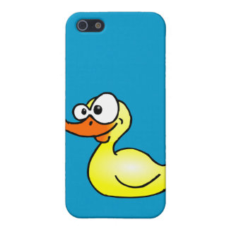 Rubber duck case for iPhone SE/5/5s