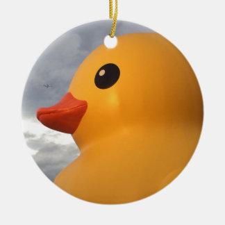Rubber Duck Ceramic Ornament