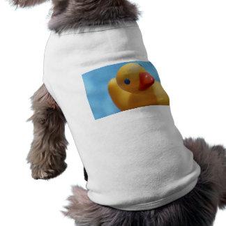 Rubber Duck Close-Up Pet Tshirt