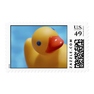 Rubber Duck Close-Up Postage Stamp
