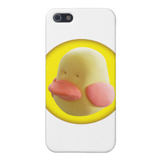 Rubber duck cover for iPhone SE/5/5s