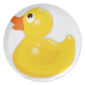 Rubber Duck Dinner Plate